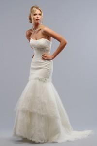 ウェディングドレス_マーメイド W9004