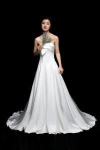 ウェディングドレス_二次会ドレス W6116
