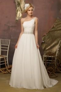 ウェディングドレス_二次会ドレス W7105