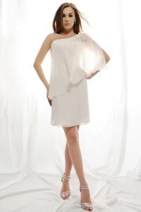 ウェディングドレス_二次会ドレス W7121