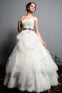 ウェディングドレス_二次会ドレス W7127