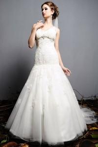 ウェディングドレス_二次会ドレス W7132