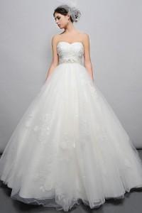 ウェディングドレス _二次会ドレス W7155
