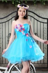 ウェディングドレス  カラードレス_ショート_ミニ C5007