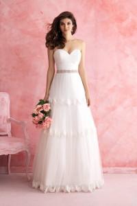 ウェディングドレス _二次会ドレス W7221