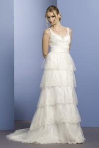 ウェディングドレス W9055