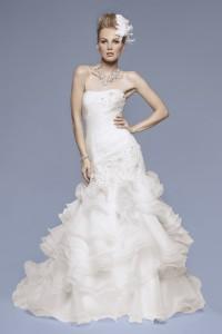 ウェディングドレス_マーメイド W9102