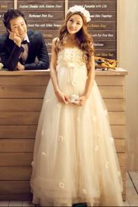 ウェディングドレス _二次会ドレス W1362