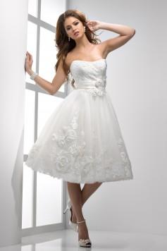 ウェディングドレス_二次会ドレス W7080