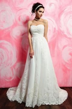 ウェディングドレス_二次会ドレス W7137