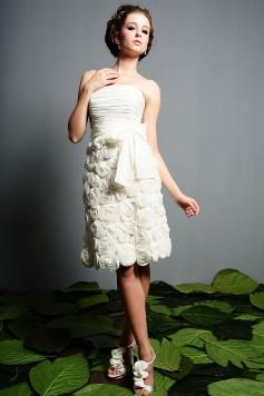 ウェディングドレス_二次会ドレス W7146