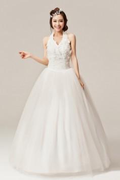 ウェディングドレス_二次会ドレス W1363