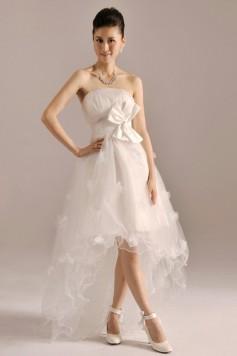 ウェディングドレス_二次会ドレス W1366