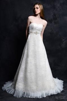 ウェディングドレス _二次会ドレス W7151