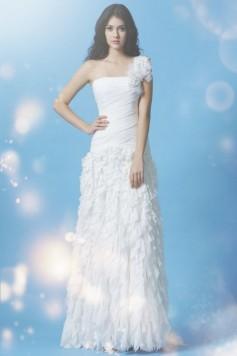 ウェディングドレス _二次会ドレス W7161