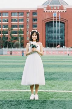 ウェディングドレス_二次会ドレス W1445