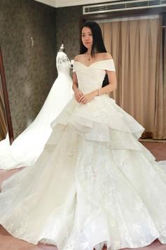 ウェディングドレス _二次会ドレス W1400