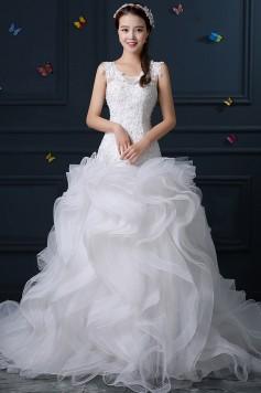 ウェディングドレス _二次会ドレス W1401