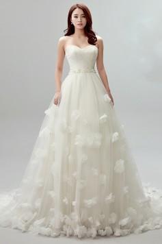 ウェディングドレス _二次会ドレス W1416