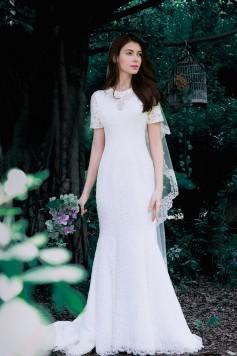 ウェディングドレス_二次会ドレス W1437