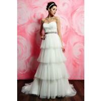 ウェディングドレス_二次会ドレス W7139
