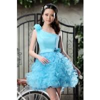 ウェディングドレス  カラードレス_ショート_ミニ C5008