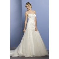 ウェディングドレス W9054