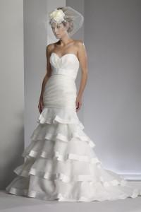 ウェディングドレス_マーメイド W9606