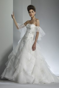 ウェディングドレス W9203
