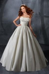 ウェディングドレス_二次会ドレス W7051
