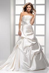 ウェディングドレス_二次会ドレス W7056