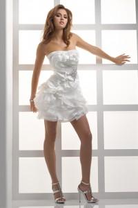 ウェディングドレス_二次会ドレス W7084