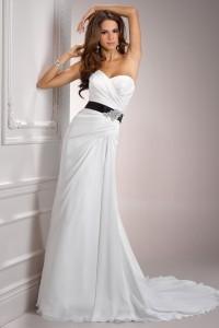 ウェディングドレス_二次会ドレス W8025