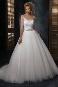 ウェディングドレス_二次会ドレス W8205