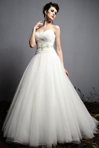 ウェディングドレス_二次会ドレス W7131