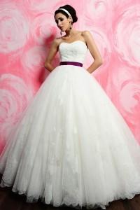 ウェディングドレス_二次会ドレス W7133