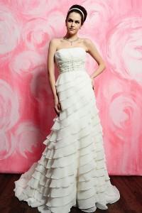 ウェディングドレス_二次会ドレス W7135