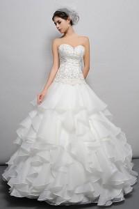ウェディングドレス _二次会ドレス W7153