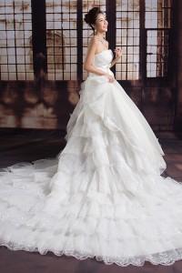 ウェディングドレス _二次会ドレス W1380