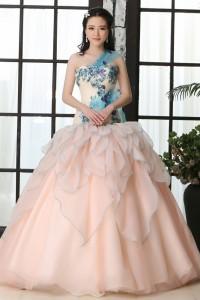 ウェディングドレス  カラードレス C5004