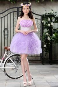 ウェディングドレス  カラードレス_ショート_ミニ C5006