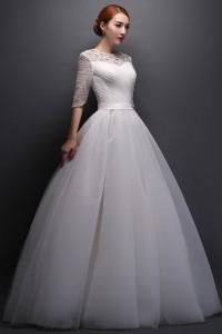 ウェディングドレス _二次会ドレス W1399