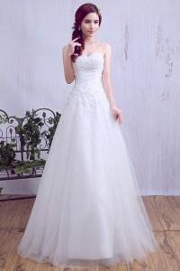 ウェディングドレス _二次会ドレス 花嫁ドレス W1425