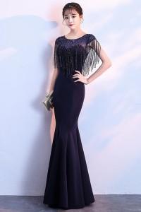 演奏会ドレスやステージドレスに人気 ロングドレス_スレンダー C5121