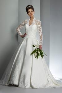 英国プリンセス・ケイトのウェディングドレス W9150