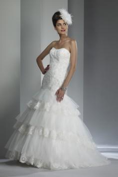 ウェディングドレス_マーメイド W9201