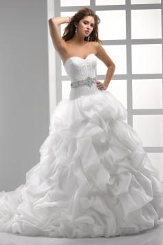 ウェディングドレス_二次会ドレス W7054