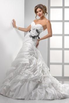 ウェディングドレス_二次会ドレス W7057