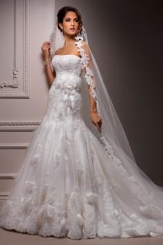 ウェディングドレス_二次会ドレス W8052