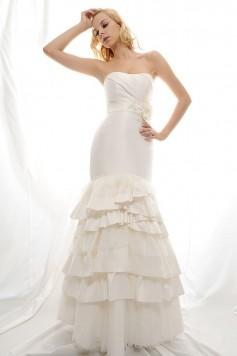 ウェディングドレス_二次会ドレス W7122